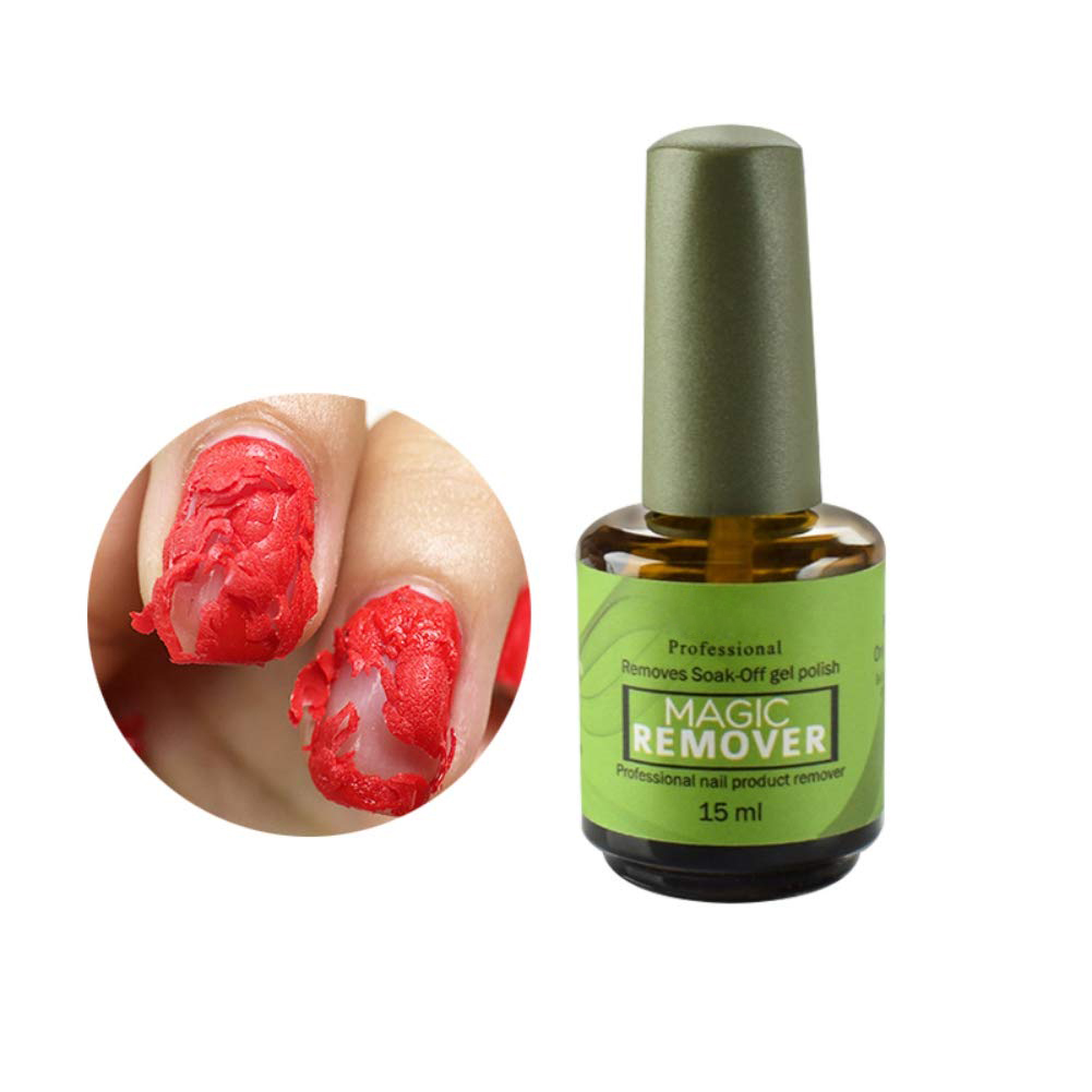 High Quality Magic Remover Professional Burst Clean Degreaser Soak Off Nail Polish Removes Gel