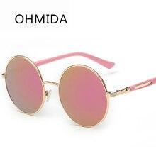 OHMIDA gafas de Sol Retro Mujeres Diseñador de la Marca de Lujo Del Deporte de La Vendimia Gafas de Sol de Espejo Shades Gafas Mujer Gafas de Sol Gafas