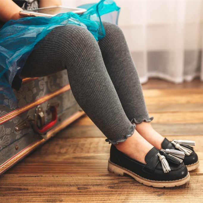 เด็กวัยหัดเดินเด็กหญิงฤดูใบไม้ผลิฤดูใบไม้ร่วงเด็กกางเกง Candy สีกางเกงผู้หญิงดินสอกางเกงวัยรุ่น 1-6Years เสื้อผ้า