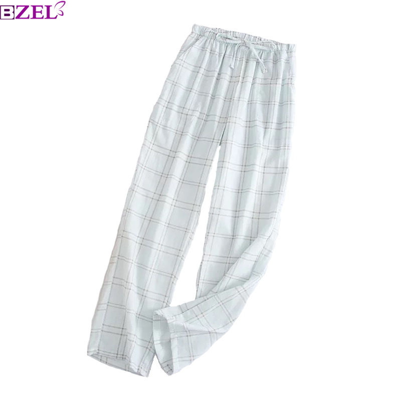 2019 Spring New Sleep Pants Ladies' 100% Gauze Cotton Print Variety Styles Sleep Bottoms Trousers Soft Household Pants Pyjamas