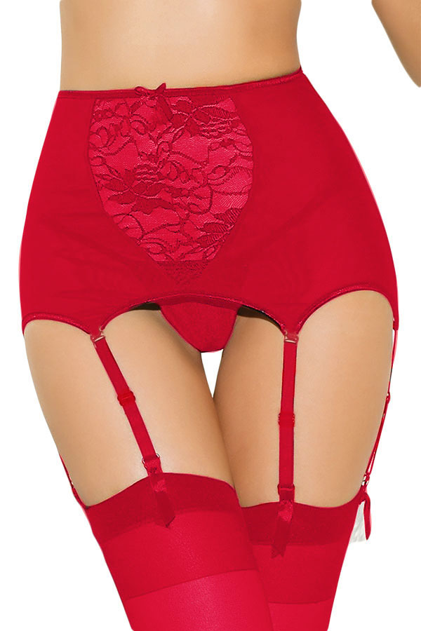 The garter belt has been a staple in women's wardrobes for years. Garter belts were traditionally used to hold up stockings and were worn underneath clothing. Hips & Curves has a great selection of plus size garter belts that can be worn underneath clothing, or even by themselves if you are feeling sexy.