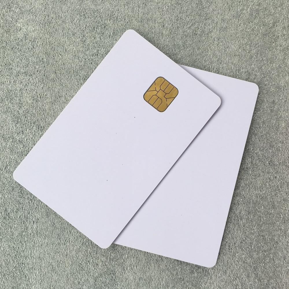 Wholesale 1000pcs 64Kbits Memory Original AT24C64 PVC Contact IC Card