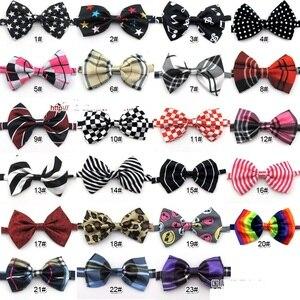 Image 3 - Cravates ajustables colorées en forme de chien