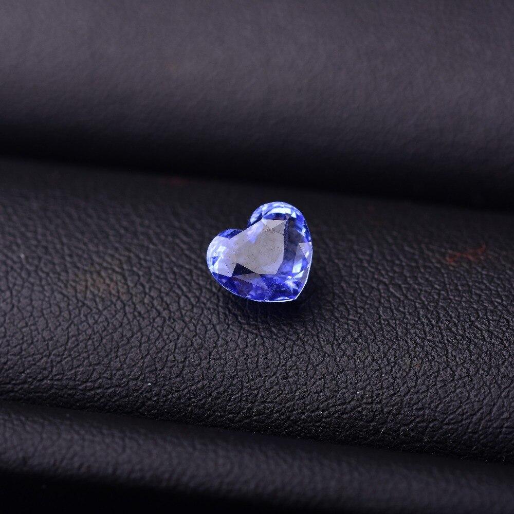 Les pierres précieuses naturelles de couleur de saphir de la thaïlande 2.05CT ont la certification d'autorité traitant des gemstonesspécifications: 6*6.3 *