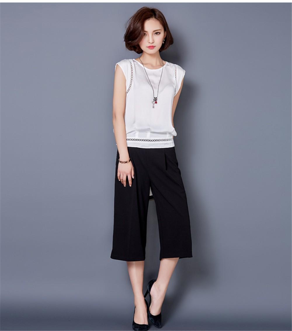 Big Size M-3XL Luxury Chiffon Tank Top For Women Summer Fashion Crop Tops Women\'s Sleeveless Tank Vest Tops Lady Sexy Camis (16)