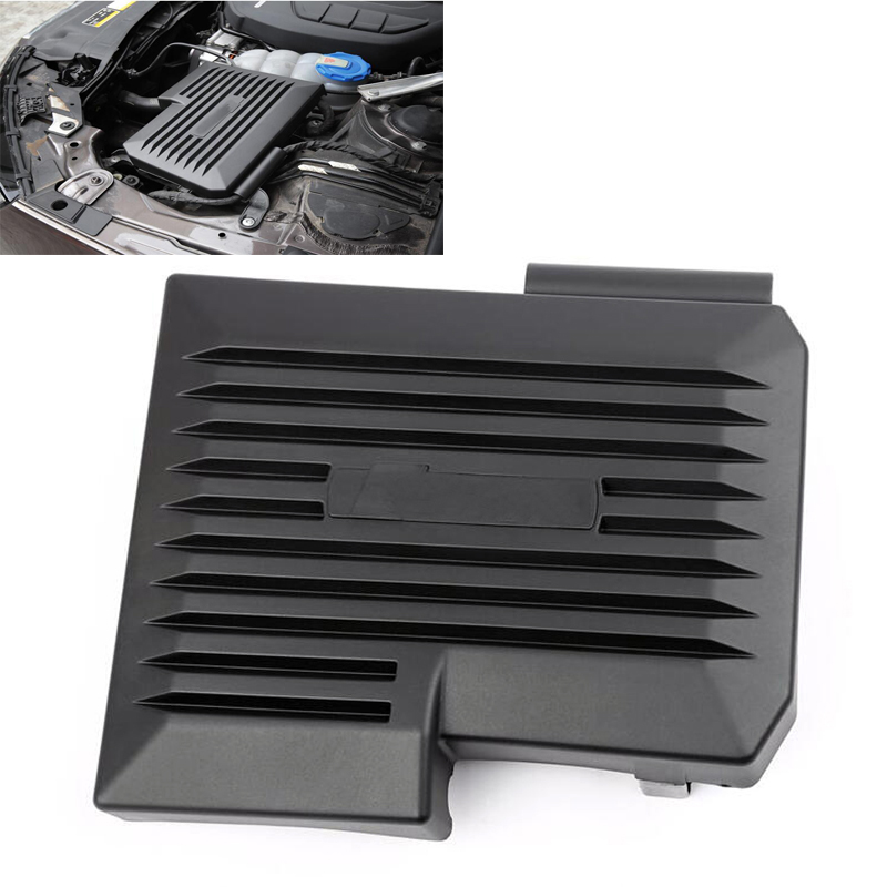 Car Engine Dust Cover Cited Cover Decorative Cover Decoration Computer protective cover For <font><b>AUDI</b></font> <font><b>A4</b></font> B9 8W A5 <font><b>2017</b></font> 2018 image