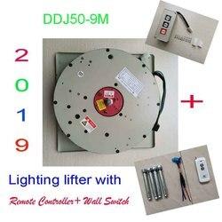 Interrupteur mural de levage, + lève-éclairage commandé à distance, système de levage de la lampe de levage, 110 V, 120 V, 220 V, 9M