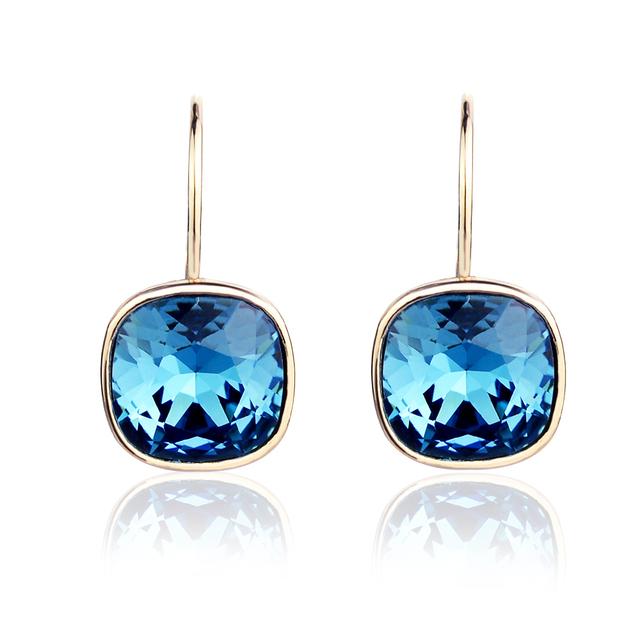 Azul cristal brincos de Helen segredo coréia moda namorada