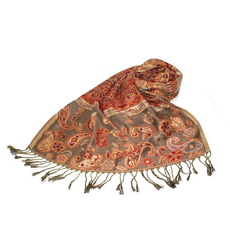 Winter Scarf Jellyfish And Fish Premium Imitation Cotton Fibre Unique Design Scarves Unisex
