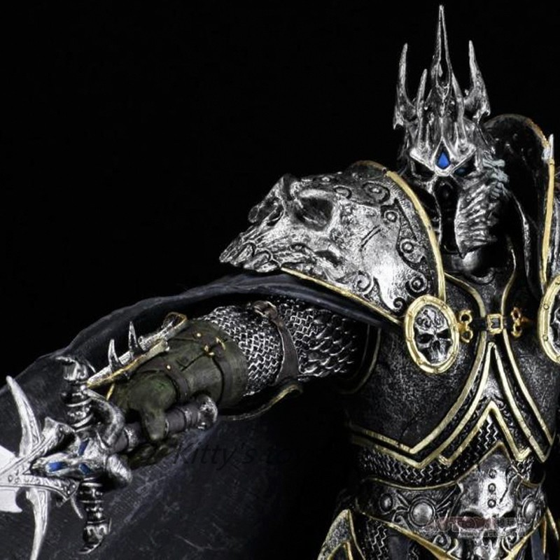 The Lich King Arthas Menethil PVC Action Figur Spielzeug World of Warcraft WoW