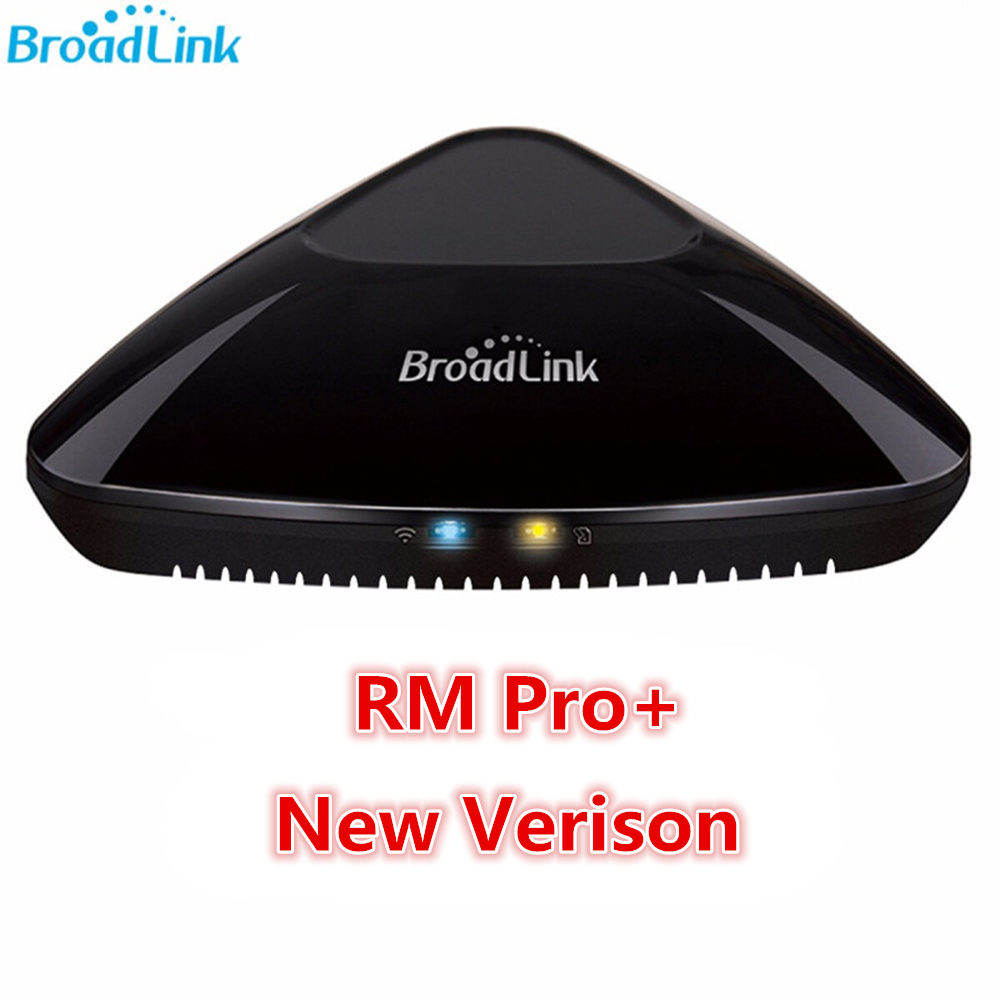 Original Broadlink RM Pro+ Intelligent Universal Controller WIFI/4G+IR+RF Remote Control Support Alexa For Smart Home Automation free shipping 2017 broadlink rm pro rm03 smart home automation wifi ir rf universal intelligent remote control switch for