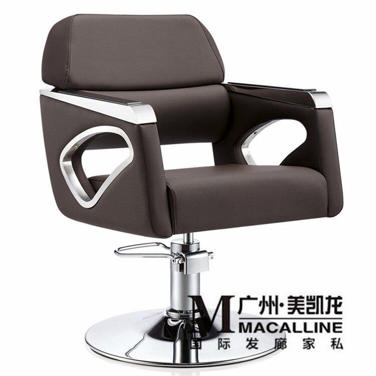 Nice Hair Salon Furniture Cheap #10: European Hairdressing Chair Solid Wood Cutting. Luxury Italian Hair Salon Chair. The New Barberu0026#39;s
