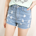 2016 fashion new Hot style women shorts High denim bermudas femininas para senhoras short feminino cintura alta