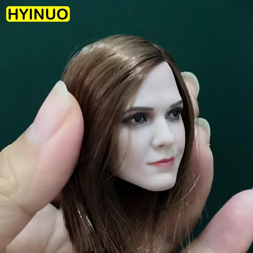 1/6 échelle Harry Potter Sexy Emma Watson tête sculpter sculpture Version modèle beauté tête jouer pour 12