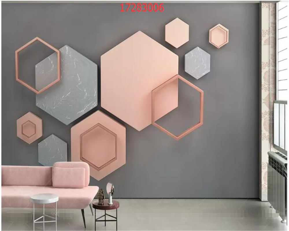 Hard-Working Beibehang Custom Solid Geometric Wallpaper For Living Room Triangle Glass Marble Mosaic Tv Background Photo Wall Paper 3d Mural Easy To Lubricate Home Improvement