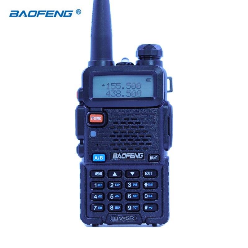 Baofeng UV-5R Walkie Talkie CB HAM Radio Dual Band VOX 2 Weg Tragbare Transceiver VHF UHF FM BF UV 5R radios PPT Handheld Stereo