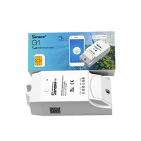 Sonoff G1 WiFi Switch GPRS Switch GSM Mobile Phone Remote Controller Water Pump Lights Outdoor Use