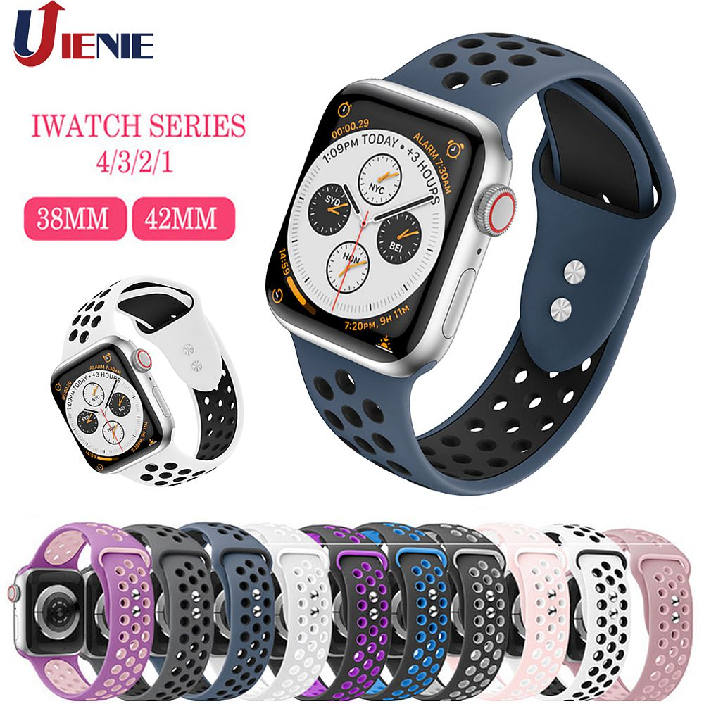 Strap for Apple Watch Band Apple Watch <font><b>5</b></font> <font><b>4</b></font> <font><b>3</b></font> 2 <font><b>1</b></font> iwatch Band 42mm 38mm Correa 44mm/40mm Pulseira Bracelet Watch Accessories image
