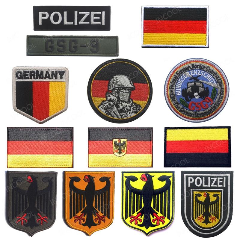 GERMANY FREE SHIPPING GERMAN BUNDESWEHR VETERAN PATCH