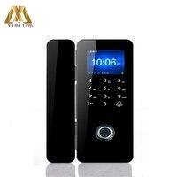 Glass Door Lock Manufacturers Fingerprint Lock Supplier Biometric Glass Door Lock With Touch Keypad XM 308
