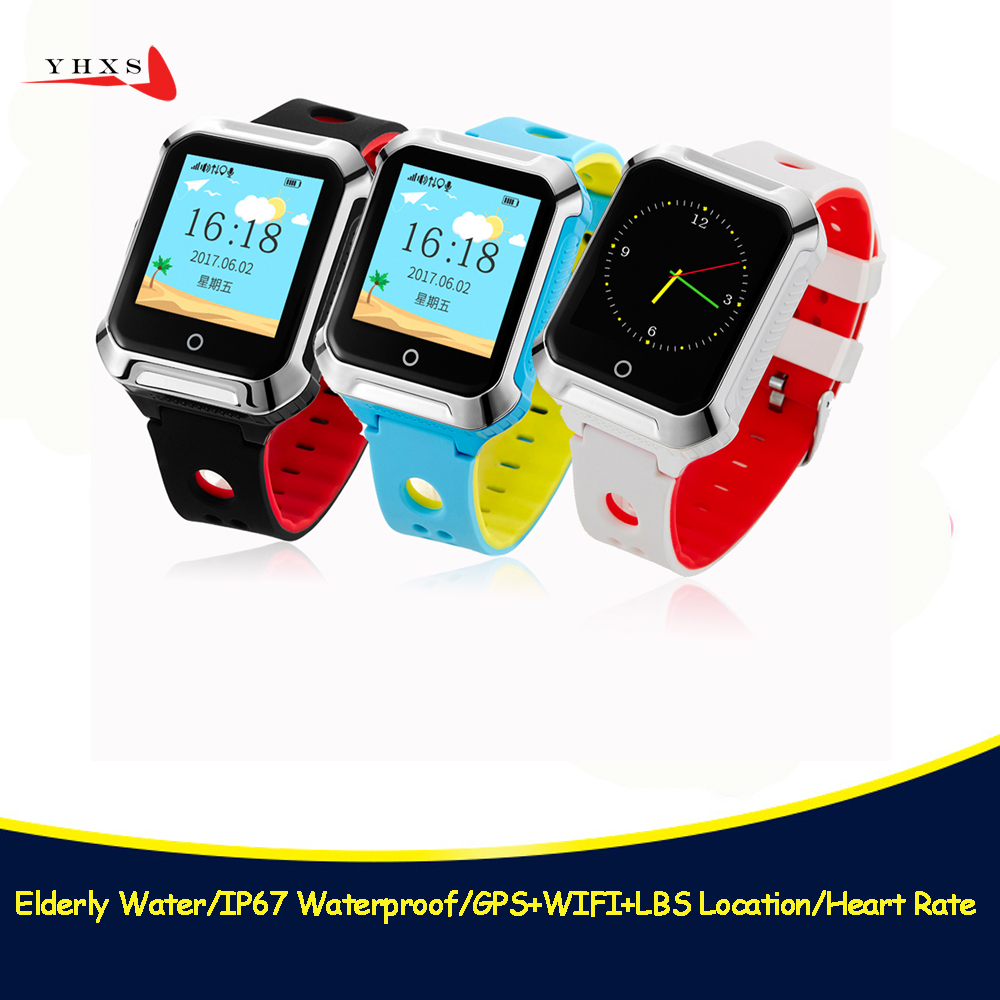 IP67 Waterproof Children GPS Swim Phone Smart SOS Call Location Device Tracker Kids Safe Anti-Lost Remote Monitor Watch PK Q750S twox waterproof gw400s df25 kids gps watch smart baby watch phone sos call location device tracker anti lost monitor pk q100 q50