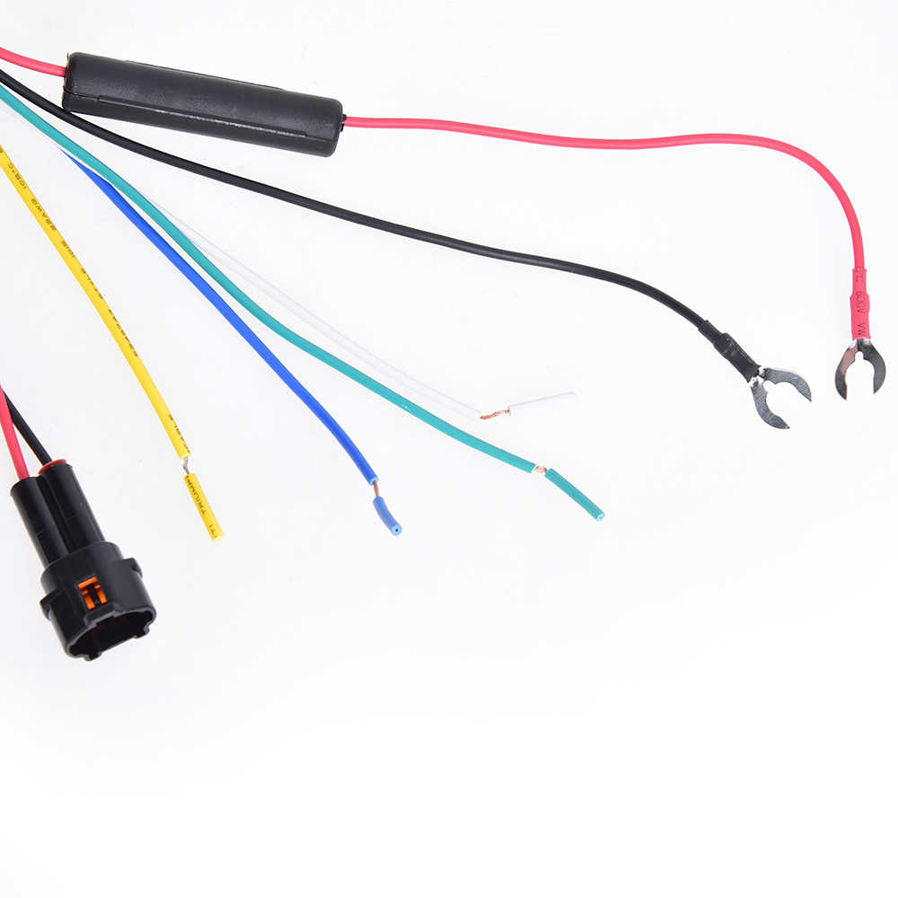 CARCHET DRL Daytime Running Harness LED Light Relay Control On/Off Dimmer Lamp Kit for Car DRL Light Relay DC 12V 2.5A 30W