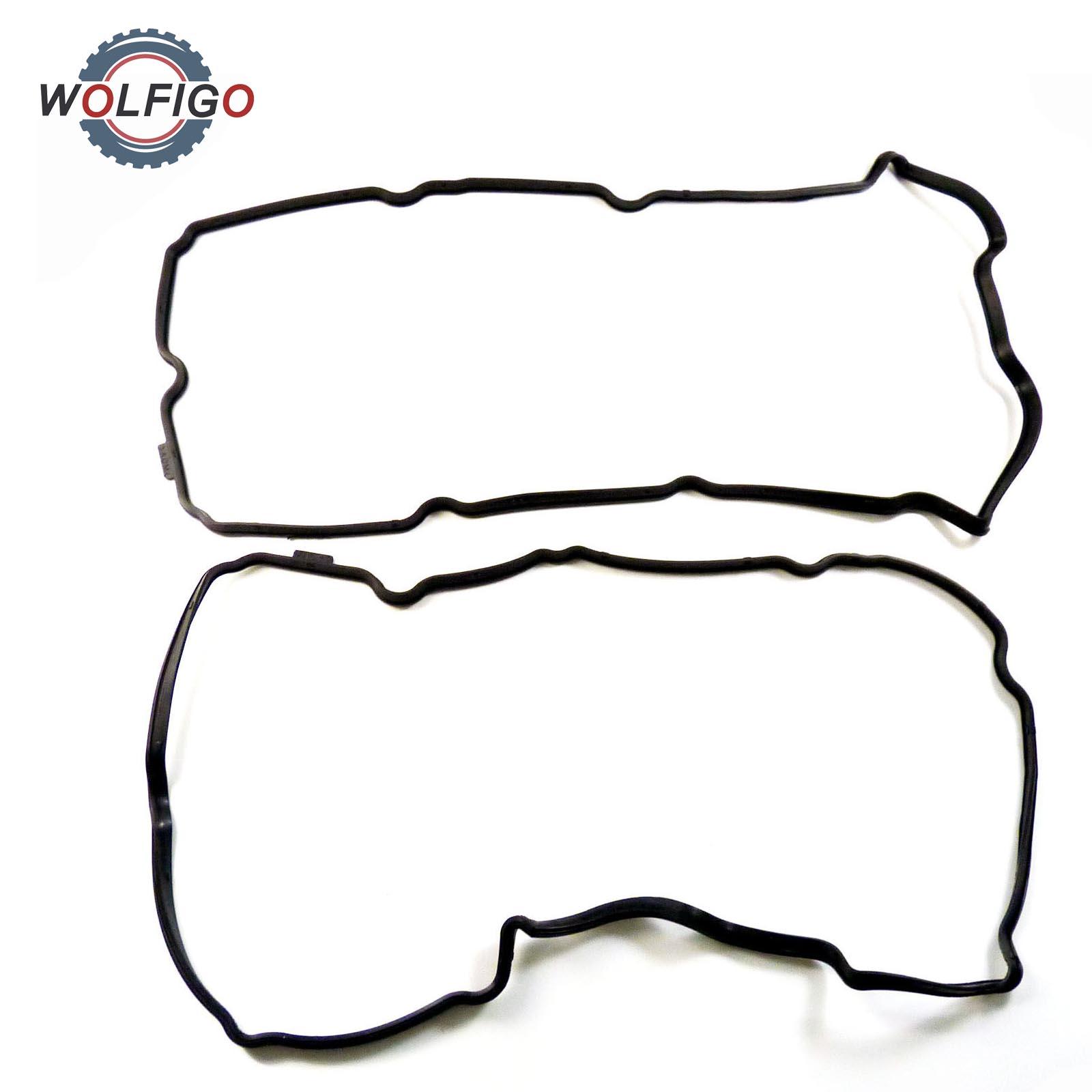 Wolfigo 2pcs Cylinder Valve Cover Gasket Set