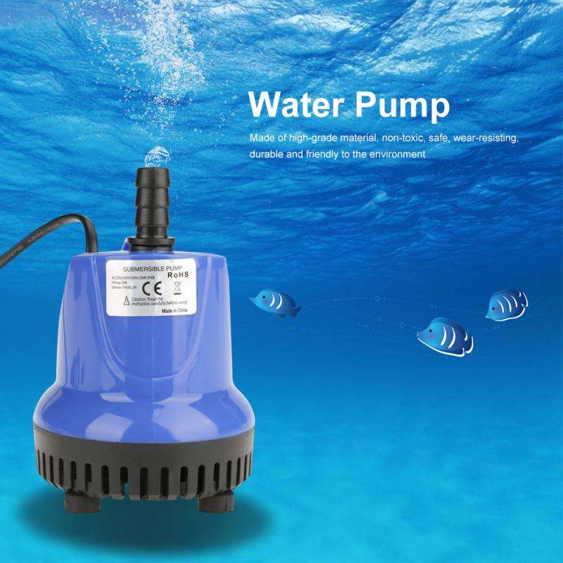 Pumps (water) Water Fountain Pump With 4 Led Light Super Silent Small Submersible Water Pum.. Grade Products According To Quality Pet Supplies