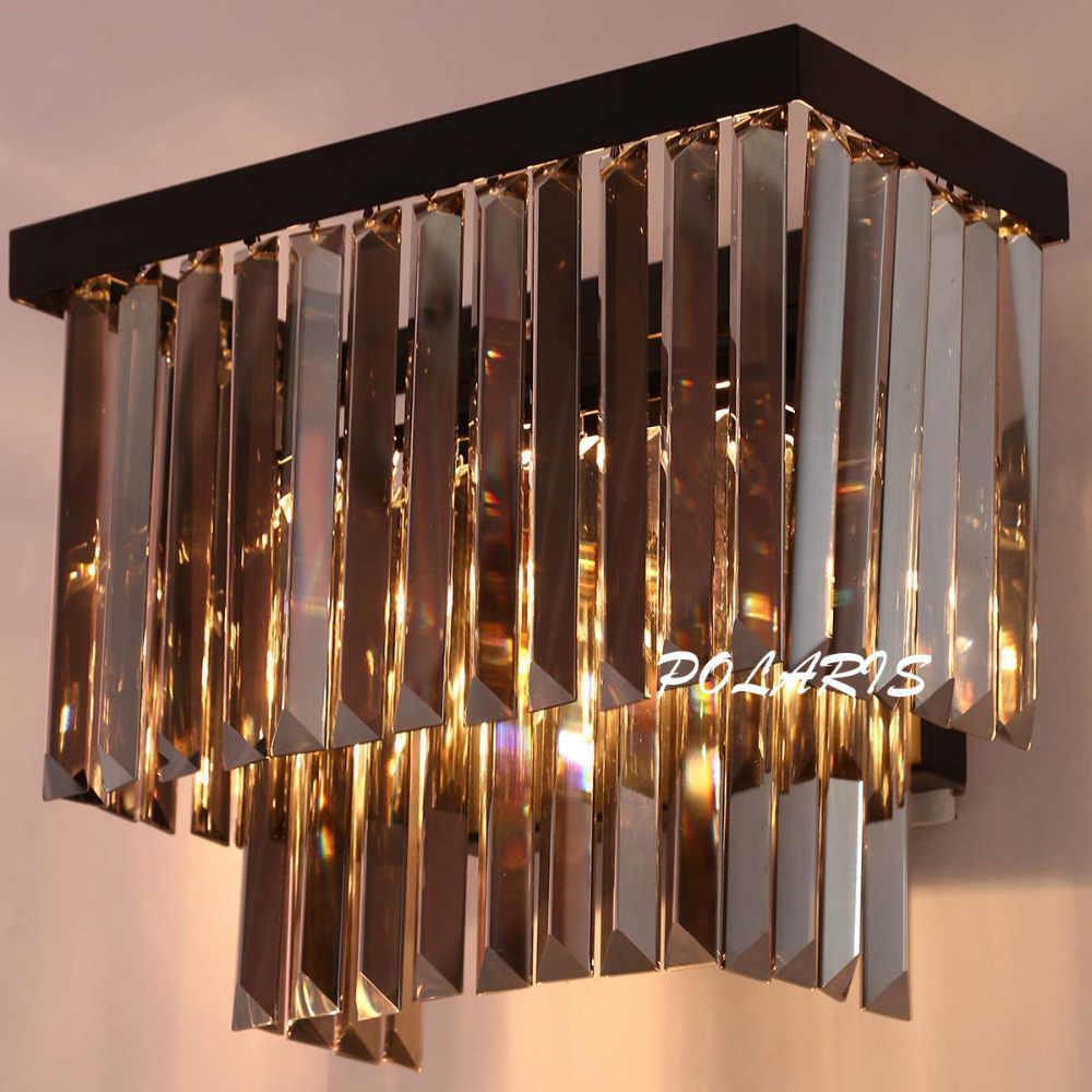 Современный Винтаж K9 хрустальная люстра бра Ретро ручек на выбор, хрустальные настенный светильник освещение приспособление для дома для гостиниц и столовых Декор