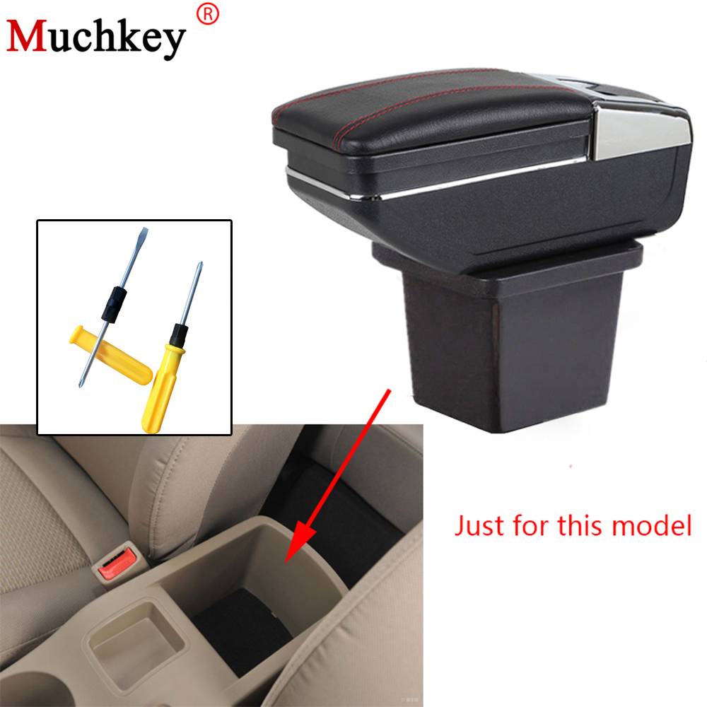 Car Styling Seat Armrests For Hyundai I30 2008 2009 2010 2011 2012 2013 Armrest box Car