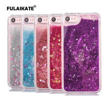 FULAIKATE Quicksand Star Dynamic Liquid Case For iphone 6 6s Glitter Sand Back Cover for iPhone 6s Crystal Clear phone cases