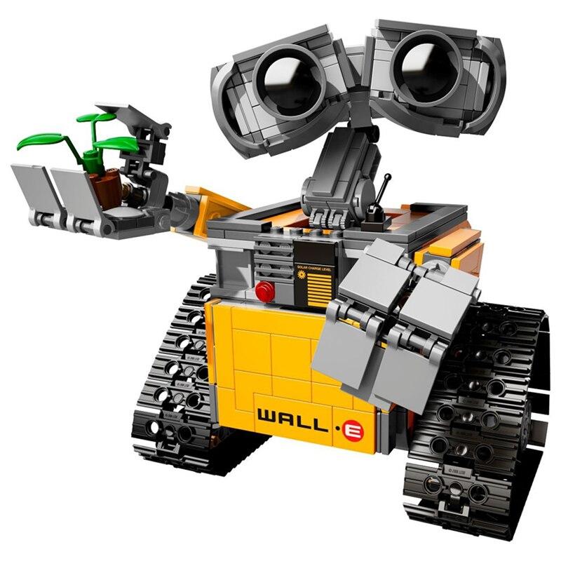 687 pièces Legoings idées mur E blocs de construction Robot modèle Kit de construction briques jouets enfants Compatible 21303