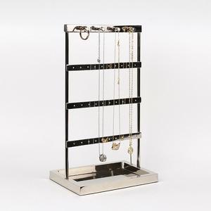 New silver jewelry display sta