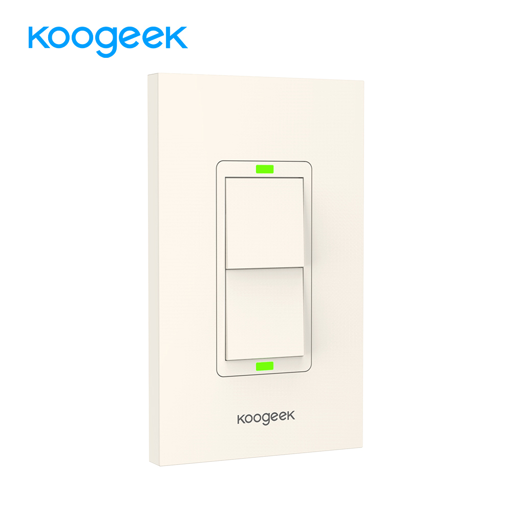 Koogeek Wifi переключатель света переключатель для Apple HomeKit Siri умный пульт дистанционного управления настенный переключатель монитор Потребляем...