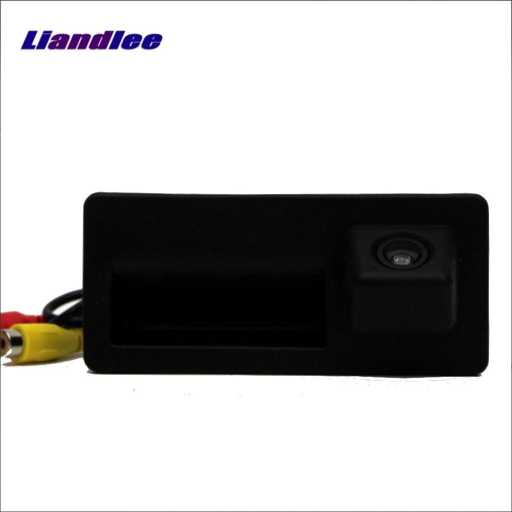 Liandlee Car Rear Camera For Audi Q3 A5 Q5 S5 2013 2014 Back Parking Camera HD CCD RCA NTST PAL Trunk Handle OEM in Vehicle Camera from Automobiles Motorcycles