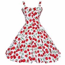 0d58aa4fb26e Kenancy Summer Dress Vintage Rockabilly Vestito Jurken 60 s 50 s Retro  Grande Swing Floreale Pinup Donne Audrey Hepburn Vestito .