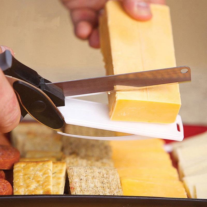 Clever-Cutter-2-in-1-Food-Chopper-Kitchen-Scissors-Smart-Cutter-Kitchen-Knife-Shears-Vegetable-Slicer (1)
