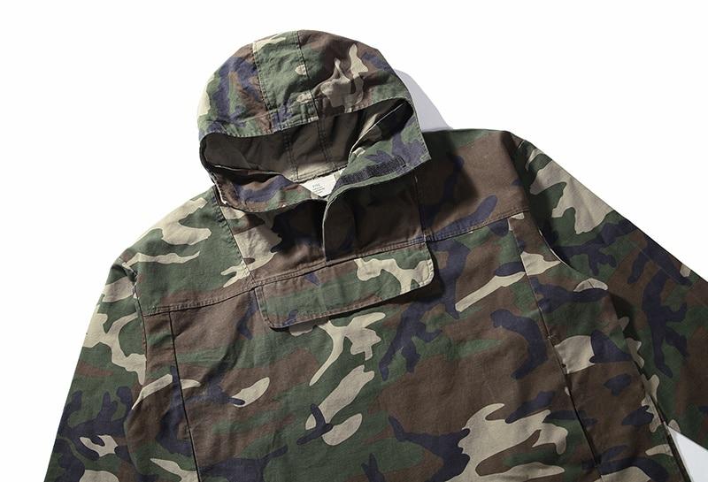 40ece9ca3c00e Fog FEAR OF GOD clothing tactical army kryptek camouflage jackets men coat  military anorak camo jacket windbreaker Justin Bieber-in Jackets from Men's  ...