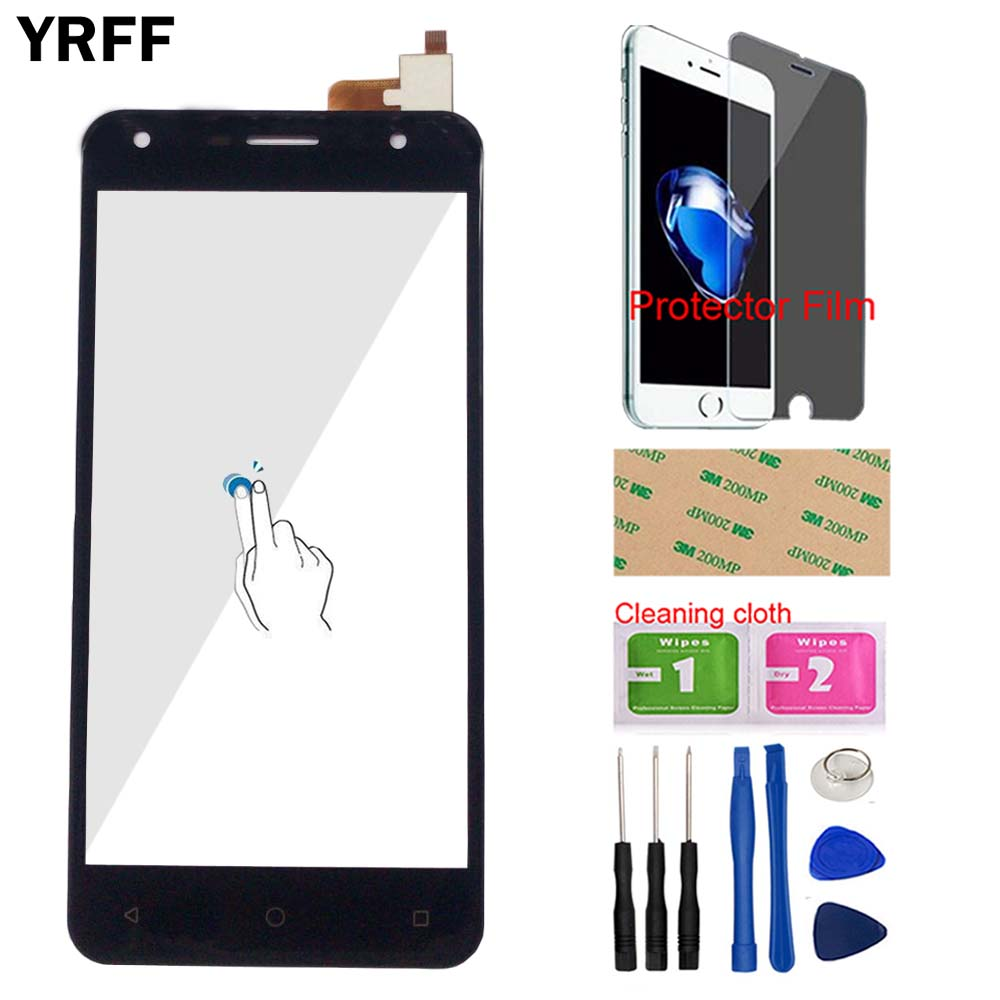 Phone Touch Screen Panel For DEXP Ixion ES850 Touch Screen Front Glass Digitizer Panel Sensor TouchScreen Tools Protector Film