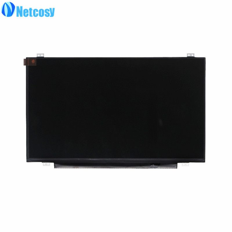 Netcosy HB140WX1-411 V4.0 New 14.0 Glossy WXGA HD Slim LED LCD Screen 30Pin 14 0 lcd laptop screen boe hb140wx1 601 hb140wx1 led panel for new 14 wxga hd display matte