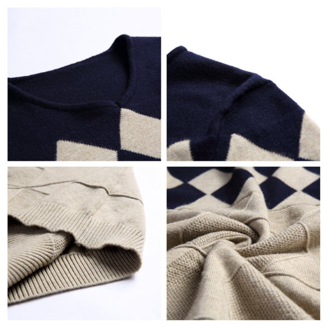 COODRONY Cashmere Wool Sweater for Men 5