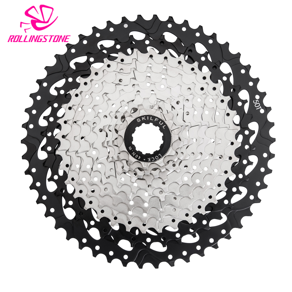 11-50T bicycle freewheel sprockets bike 11 speed cassette mountain bike freewheel sprocket mtb cog 50T cdg Al-alloy new arrive bicycle mtb freewheel 11 32t 36t 40t 42t 46t 50t sprockets 8 9 10 11 speed cassette mountain bike flywheel cog