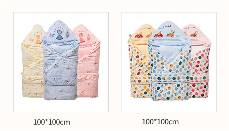 Baby Wrapped Blanket Warm Care (9)