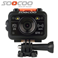 Original SOOCOO S70 2K Sports Action Camera 2K@30fps 60M Waterproof Build-in WIFI with Watch Remote Control 70m 170 Degree Lens