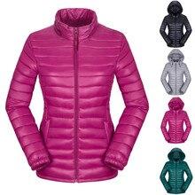 Women Winter Thermal Ultralight Down Jacket Outdoor