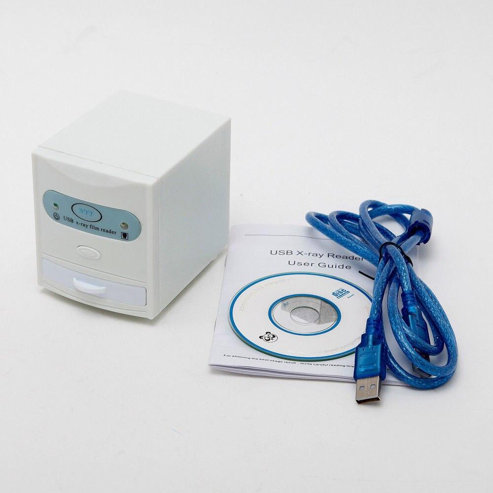 Бесплатная доставка зубные X-Ray Плёнки просмотра дигитайзер сканер USB Reader Новое поступление нам