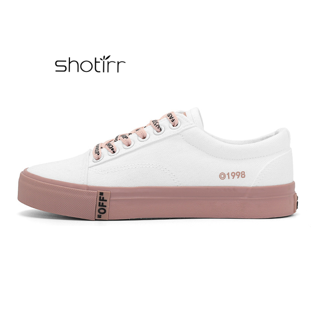 New Arrival Fashion Hot Women Shoes Spring And Autumn Casual Ladies Sneakers Classic Female Canvas Footwear