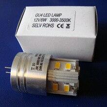 Высокое качество 12vac/DC 6 Вт G4 светодиодные фонари, LED G4 лампы 12 В LED gu4 Светильники G4 светодиодные Crystal Light, LED G4 12 В, 5 шт. в партии