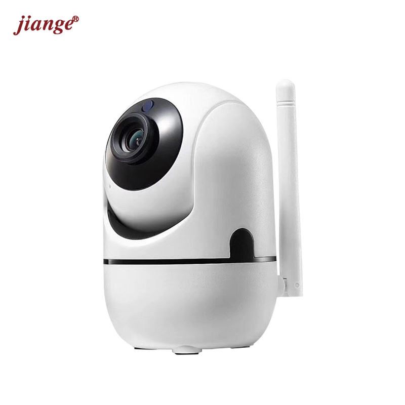 Jiange HD Cloud Storage WiFi IP Camere, Auto-tracking Cloud Recording Wireless Security Surveillance Camera, Smart Home Security