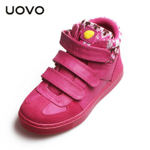 UOVOwinter children s shoes brand men and women women s warm sports shoes breathable shoes children